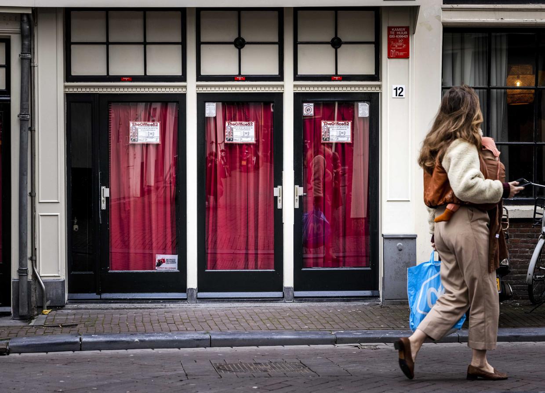 Prostitutieramen op de Wallen.  Beeld ANP