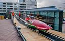 Bewoners pleiten voor meer attracties; eerder lag er een bobsleebaan in het winkelcentrum.