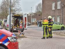 Gaslek in de Luttelhof in Prinsenbeek