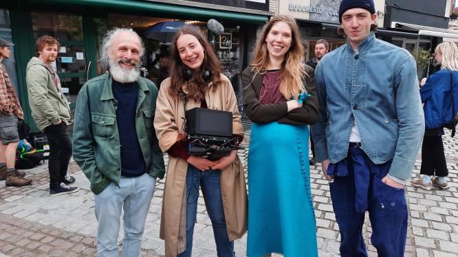 Salomé Richard draait kortfilm 'Amandine' met Jan Bijvoet op diverse locaties in Ronse