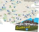 Camperplaatsen in de Achterhoek, mogelijkheden tot overnachting (net) buiten de campings. Bron: Campercontact.com.