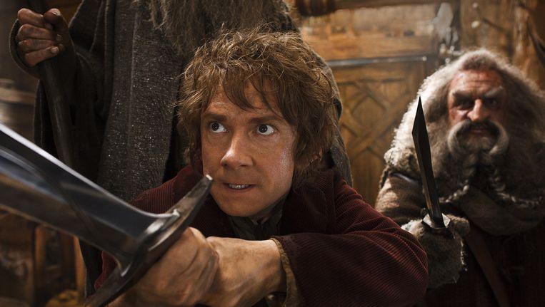 Een scène uit The Hobbit. Beeld AP
