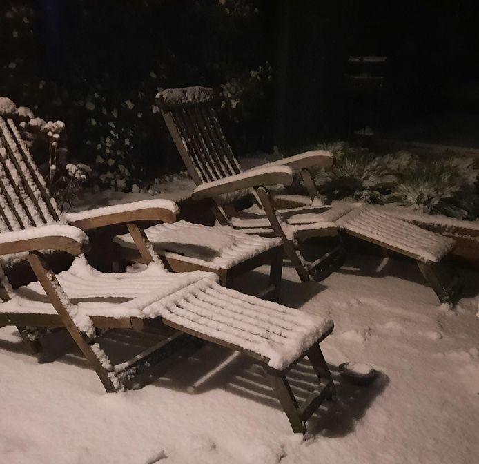 Sneeuwstoelen in Rhenen