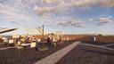 Sfeerimpressie van het dakterras op Fort Buitensluis.