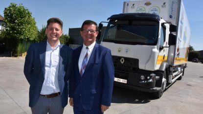 Eerste vrachtwagen met koeling zonder CO2-uitstoot