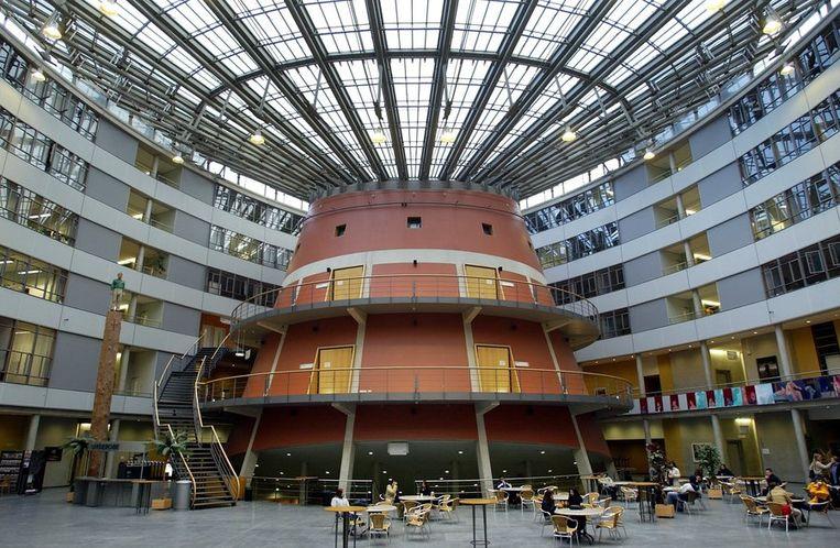 Interieur van de Haagse Hogeschool. Beeld anp