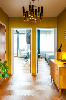 fotoreeks over Binnenkijken in een appartement met hotelallures