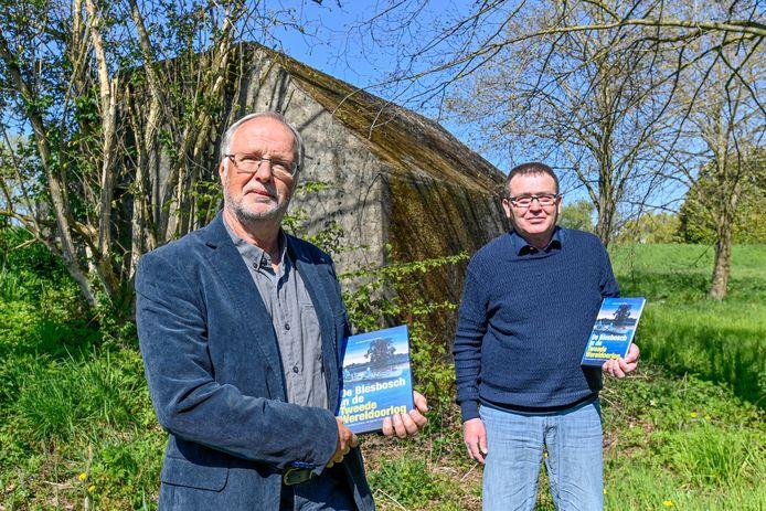 Leen Fijnekam en Alfons van Bokhorst hebben een boek geschreven over de Biesbosch in de Tweede Wereldoorlog.