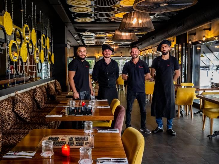 Mediterraans chique sfeer bij BeyMen: kruidige Turkse gerechten en een waterpijp als dessert