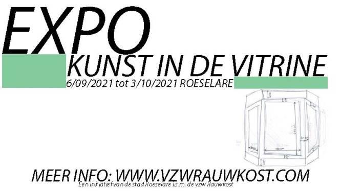 Kunstexpo vult leegstaande vitrines