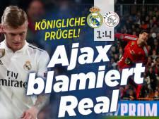 Ajax gaat de wereld over: 'Koninklijk pak slaag voor Real'