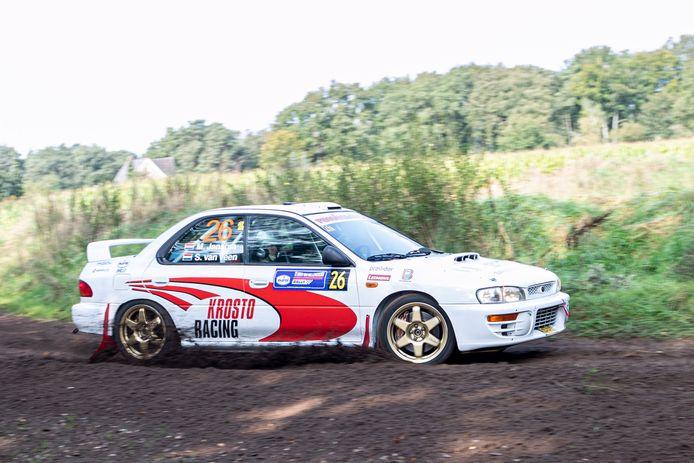 De weersomstandigheden waren ideaal voor de 39ste Hellendoorn Rally.
