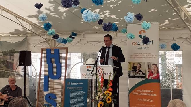 Minister Wouter Beke opent Huis 4, een plek voor 30 bewoners met een beperking in Aartrijke