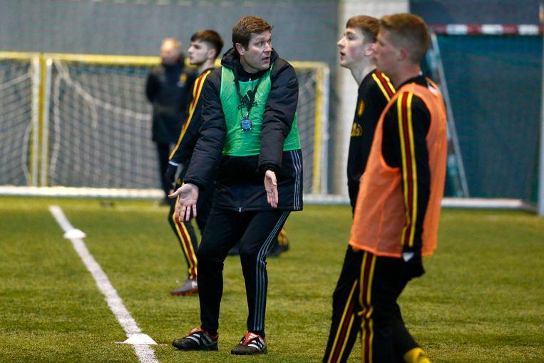 Verheyen begin dit jaar aan het werk met de nationale U19.