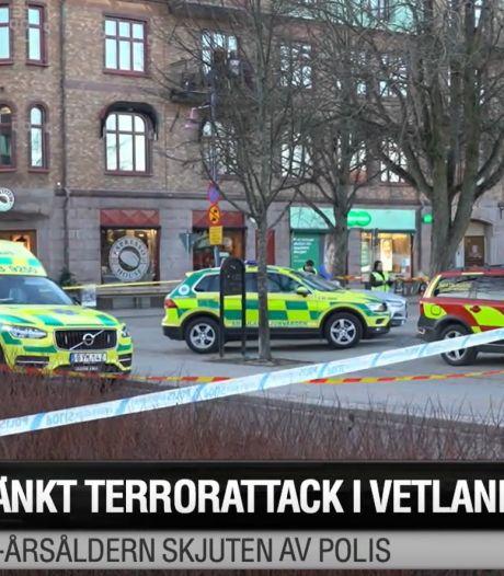 Acht gewonden na aanval met 'scherp voorwerp' in Zweeds stadje, politie gaat uit van terreur