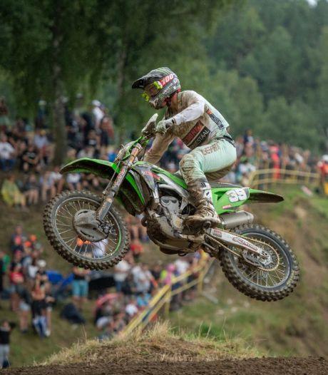 Operatie motorcrosser Van de Moosdijk, streep door GP Lommel