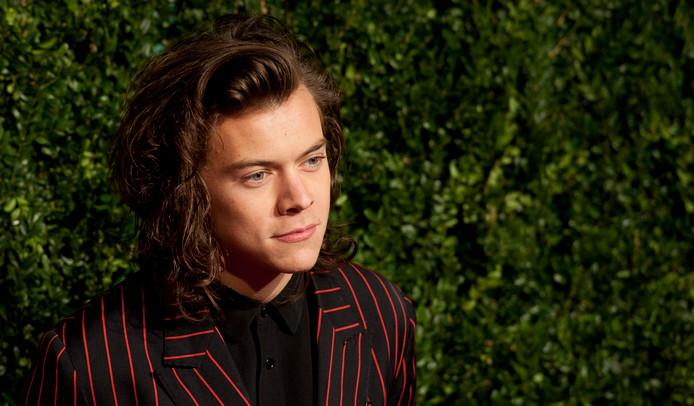 De Britse zanger Harry Styles.