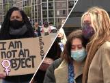 Emotionele demonstratie voor veiligheid van vrouwen: 'Hands off our women!'