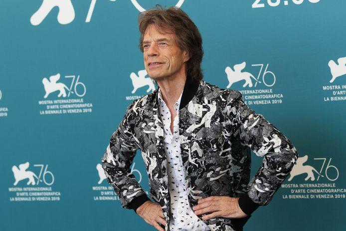 Mick Jagger, frontman van The Rolling Stones.