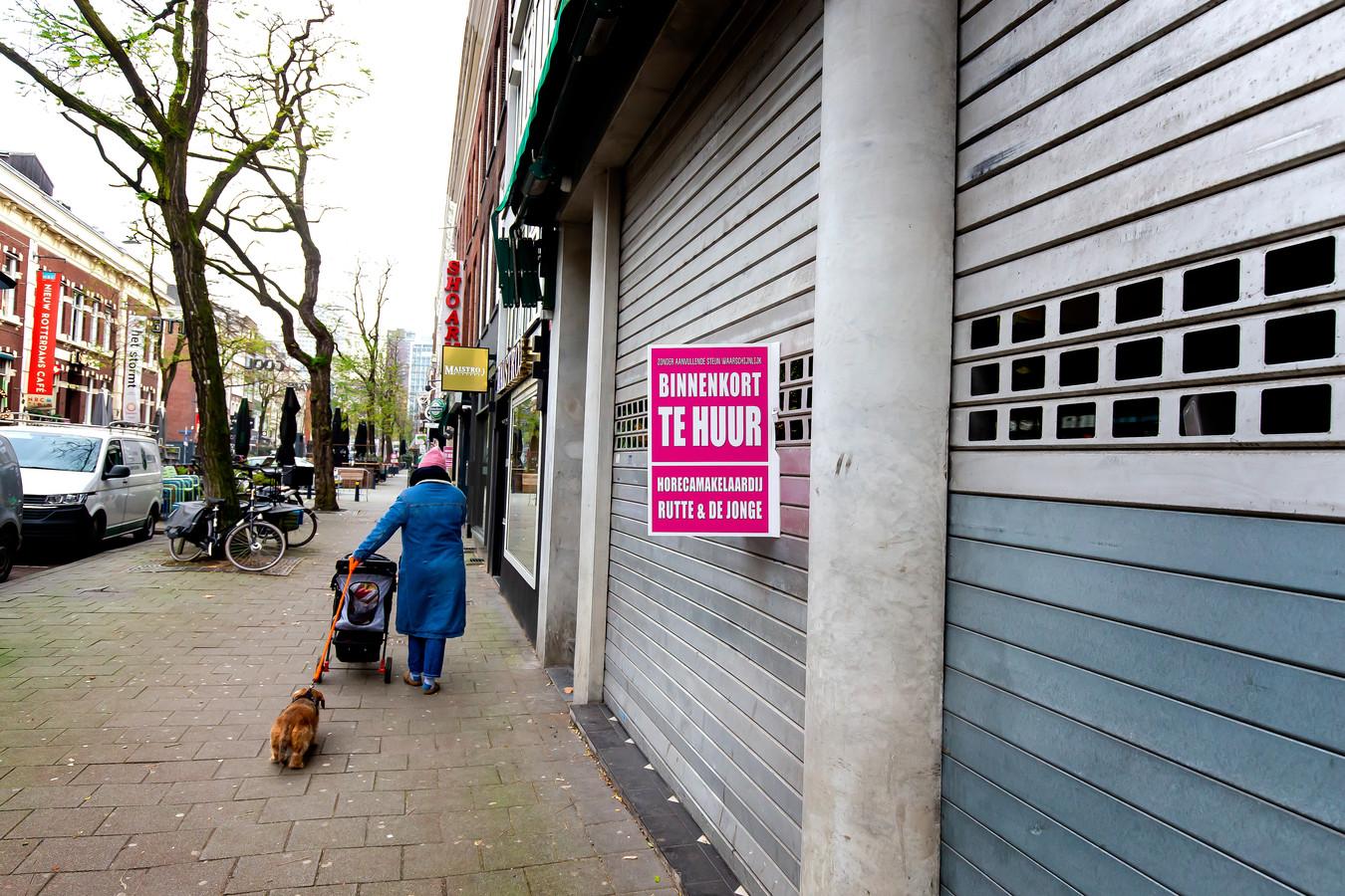 Horecazaken protesteren tegen de sluiting