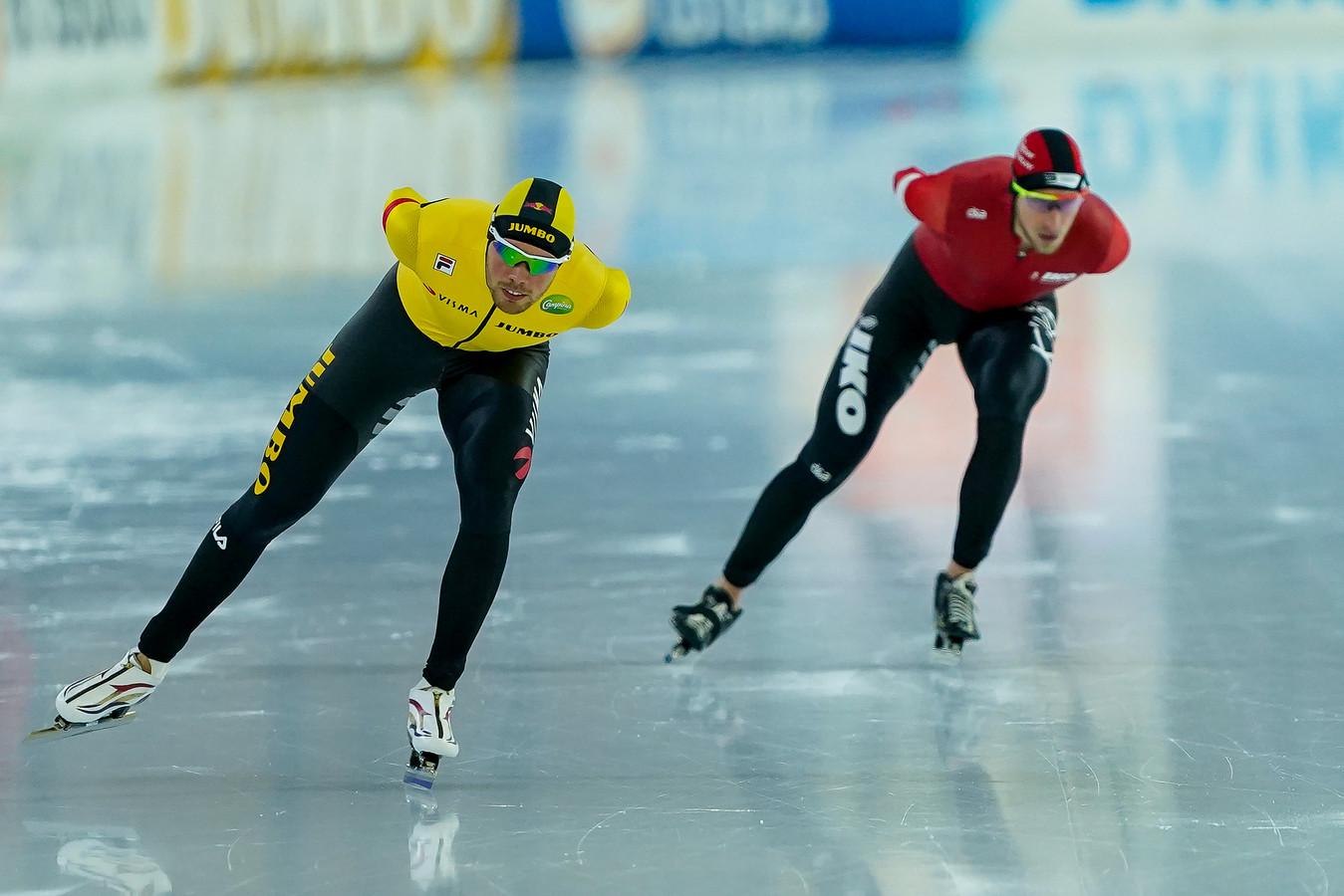 Patrick Roest en Jan Blokhuijsen (rechts).