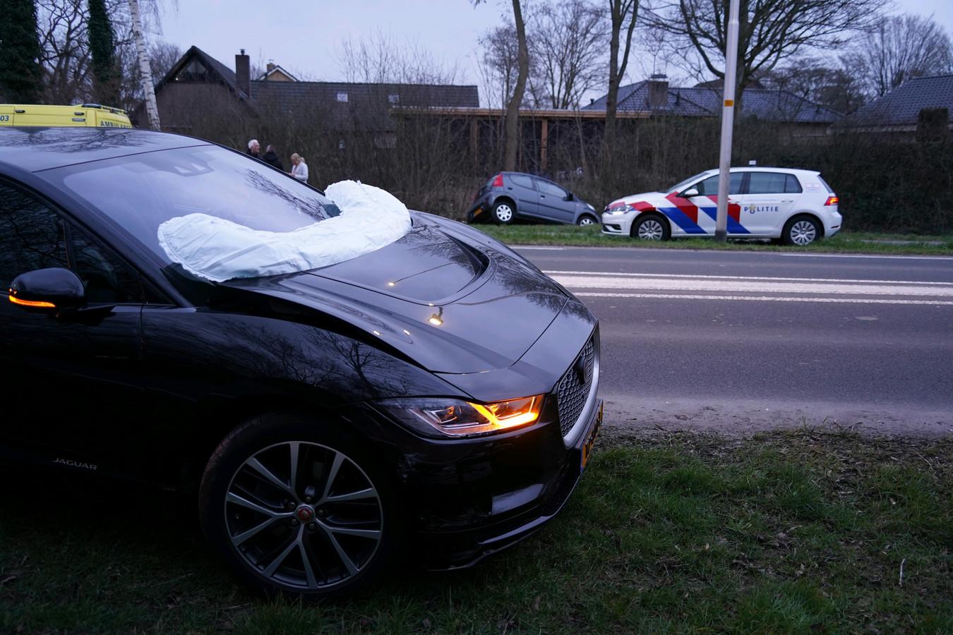 Bij het ongeluk in Didam waren twee auto's betrokken.