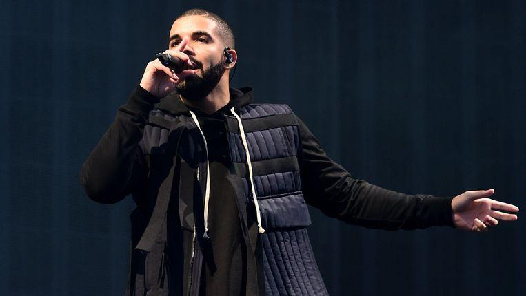 De Canadese rapper Drake spant de kroon: zijn recentste worp, Views, telt twintig tracks en duurt meer dan 80 minuten. Beeld Photo News