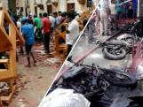 Aanslagen laten ravage achter in Sri Lanka