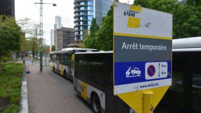 """De Lijn: """"Alternatieve regeling voor bussen aan Noordstation verloopt probleemloos"""""""