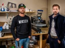 Tonny Vilhena en Justin Kluivert dragen 10nine van Zwartewaalse broers