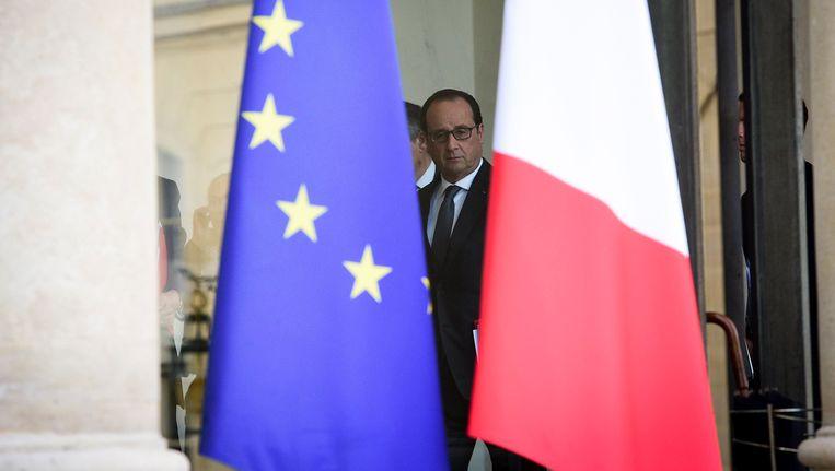François Hollande. Beeld PHOTO_NEWS