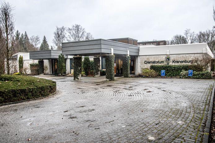 De entree van het crematorium krijgt een metamorfose.