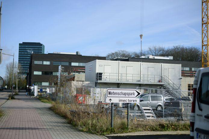 Het Wetenschapspark in Heverlee met op de achtergrond de bejubelde maar ook verguisde imec-toren. Zijn er meer hoge gebouwen op komst?