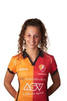 Vrouwen Oranje-Rood moeten in laatste minuut gelijkmaker incasseren tegen Pinoké: 1-1