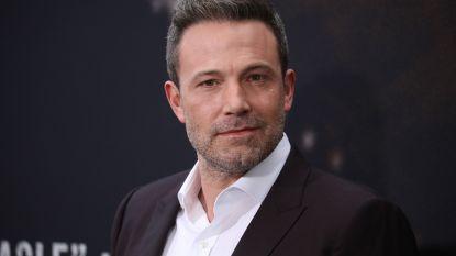 Ook Ben Affleck was een doelwit van Harvey Weinstein