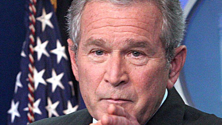 George W. Bush. Beeld afp