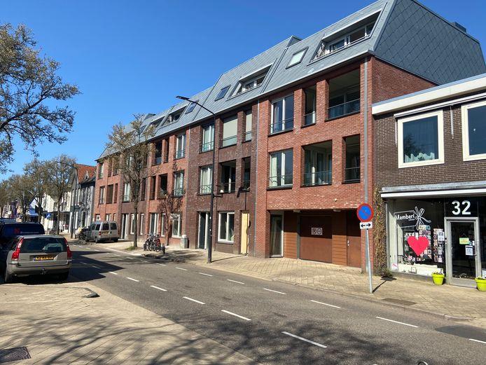 Winkels in de Steynlaan in Zeist hebben plaatsgemaakt voor nieuwbouw.