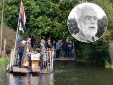 Overleden pontbaas Jacob Versteegh maakt laatste overtocht op zíjn veer in Zwolle