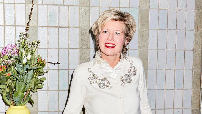Elske Doets, schrijver van Lef Om Gelukkig Te Zijn. Beeld Valentina Vos