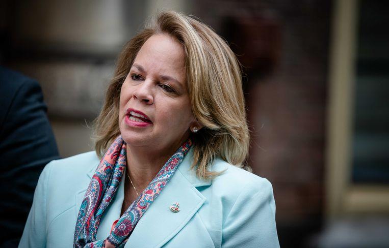 Evelyn Wever-Croes, de premier van Aruba. Beeld ANP