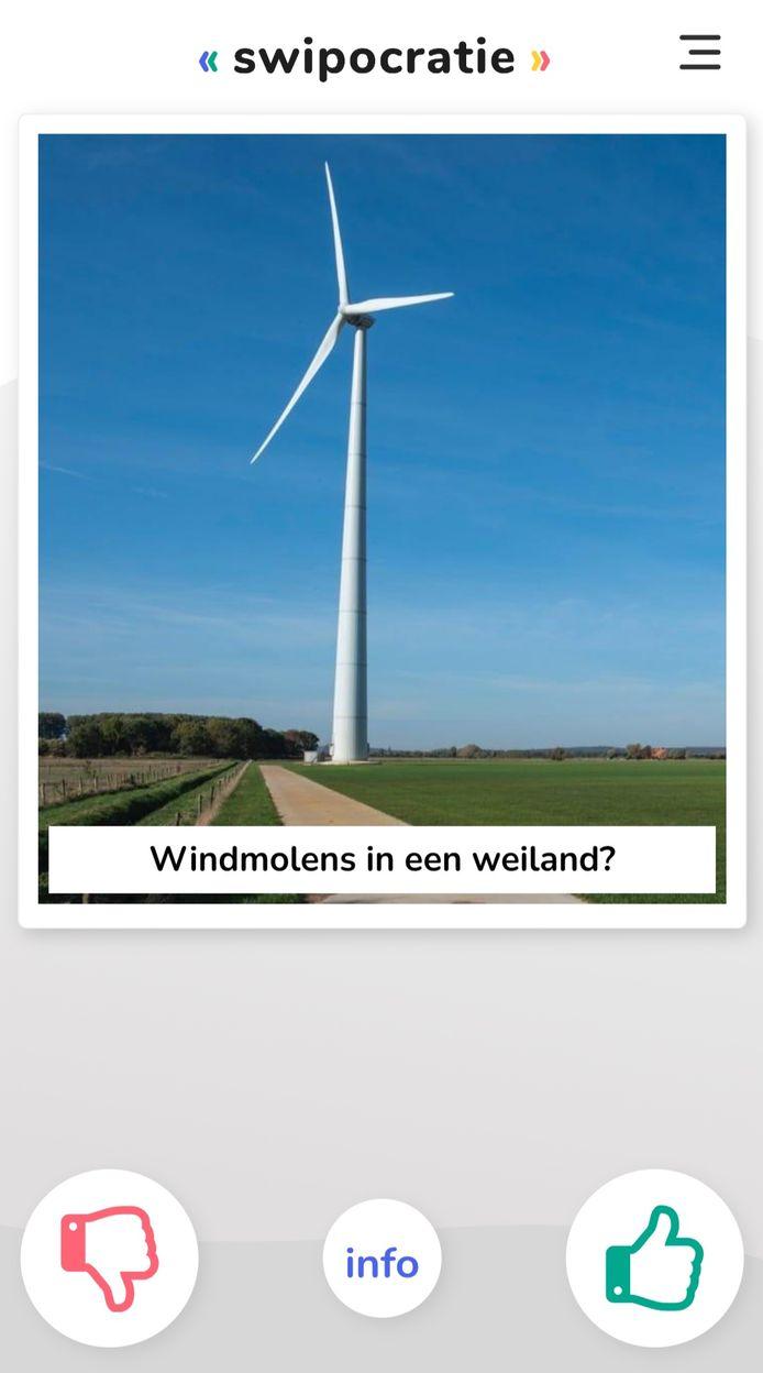 Tinder voor windmolens: swipocraty in Berkelland.