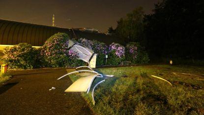 Dak van sporthal belandt op speelplaats in Lummen