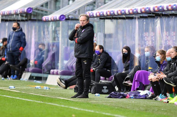 Trainer Patrick Wachel aast met Anderlecht op een vierde landstitel op rij.