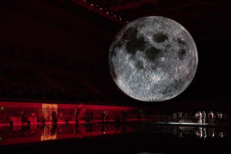 Chengdu zou een lancering van een soort maan-replica plannen tegen 2020. Beeld EPA