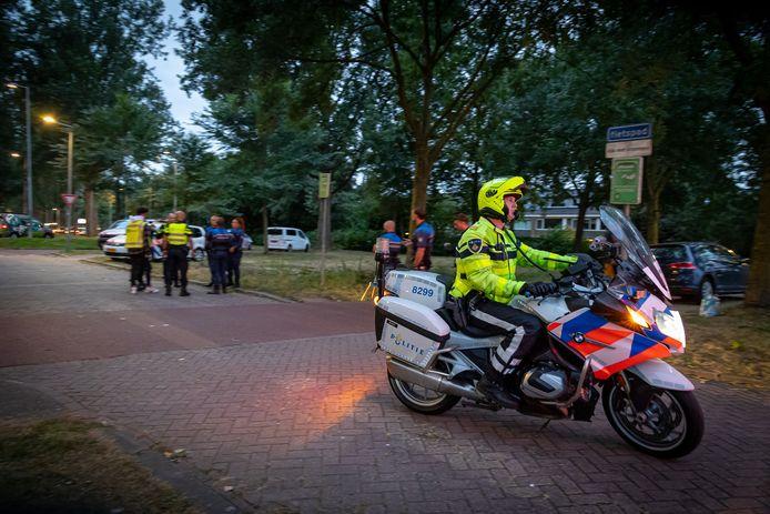 De politie, Belastingdienst, RDW en gemeente kijken terug op een geslaagde verkeerscontrole.