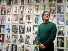 Nour-Eddine Jarram heeft eindelijk zijn solo in Rijksmuseum Twenthe, achter gesloten deuren