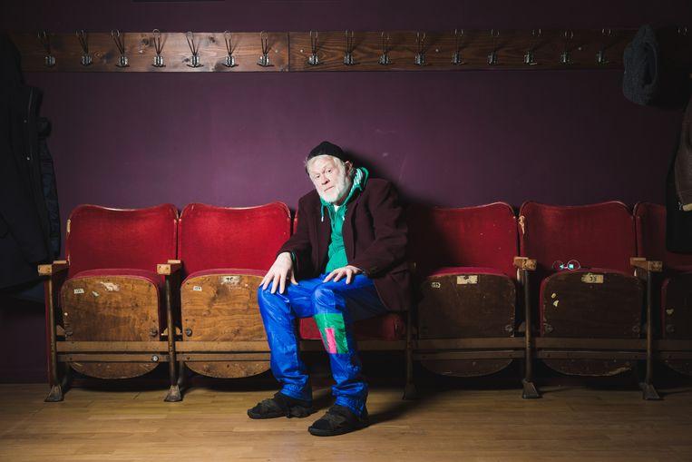 Bob De Moor in Theater Box.