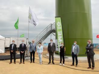 Twee nieuwe windturbines moeten baggerbedrijf DEME klimaatneutraal maken