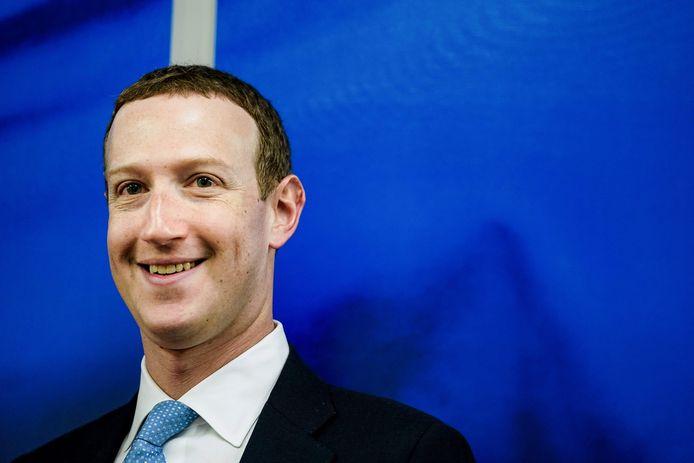 Mark Zuckerberg, fondateur et CEO de Facebook.