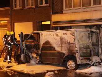 Brand van bestelwagen accidenteel ontstaan in laadruimte